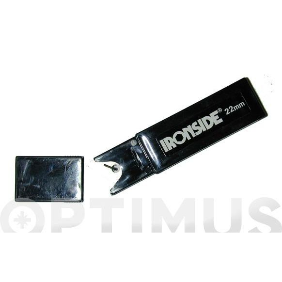 HOJA CUTTER 22 MM (10 UNID.) IRONSIDE -J-