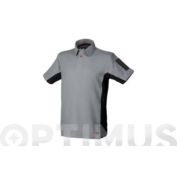 POLO STRETCH GRIS T-S STARTER